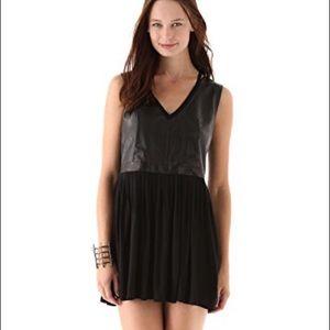 Aiko Crawford B Leather Dress